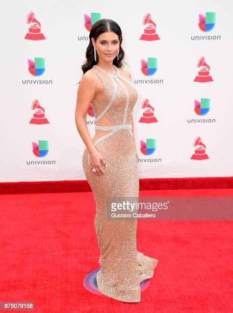 Chiquinquira Delgado attends the 18th Annual Latin Grammy Awards at MGM Grand Garden Arena on November 16 2017 in Las Vegas Nevada