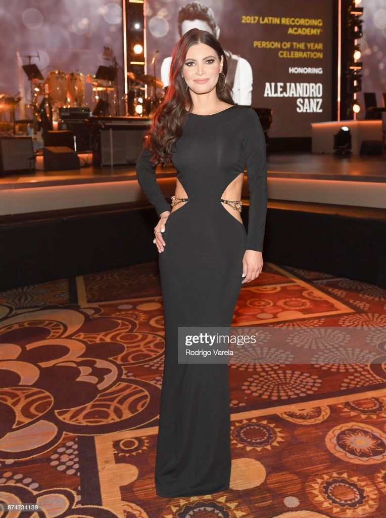 Chiquinquira Delgado attends the 2017 Person of the Year Gala honoring Alejandro Sanz at the Mandalay Bay Convention Center on November 15, 2017 in Las Vegas, Nevada.