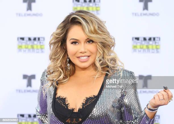Chiquis Rivera arrives at the 2017 Latin American Music Awards held at Dolby Theatre on October 26, 2017 in Hollywood, California.