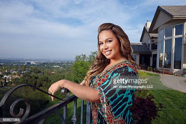 Chiquis Rivera at home