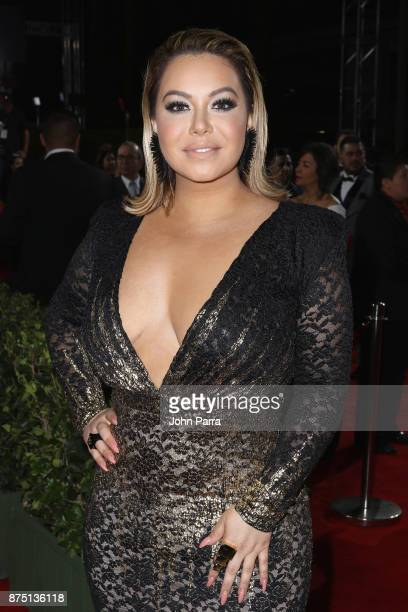 Chiquis Rivera attends The 18th Annual Latin Grammy Awards at MGM Grand Garden Arena on November 16 2017 in Las Vegas Nevada