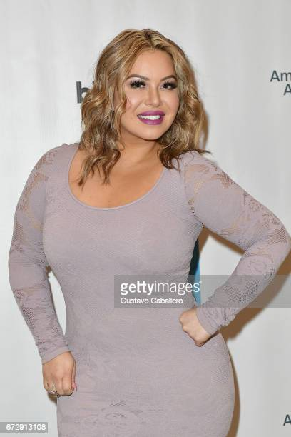Chiquis Rivera attends the Billboard Latin Conference 2017 at Ritz Carlton South Beach on April 25, 2017 in Miami Beach, Florida.