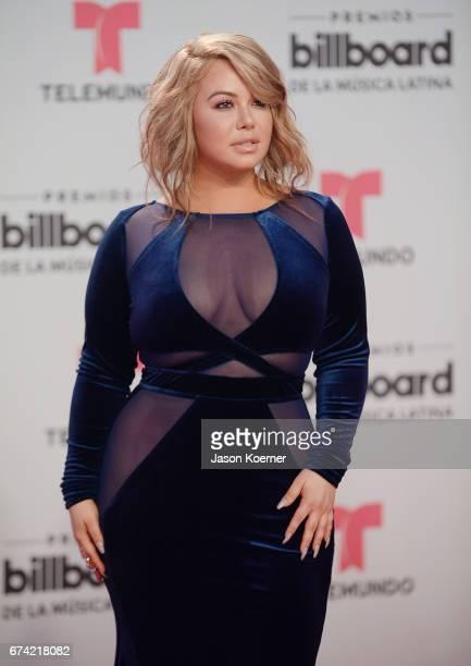 Chiquis Rivera attends the Billboard Latin Music Awards at Watsco Center on April 27 2017 in Miami Florida