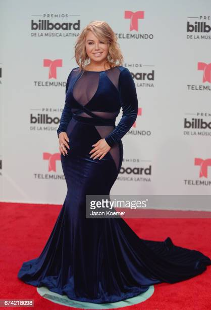 Chiquis Rivera attends the Billboard Latin Music Awards at Watsco Center on April 27, 2017 in Miami, Florida.