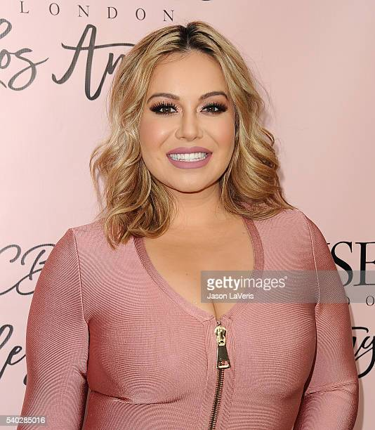 Chiquis Rivera attends the House of CB flagship store launch at House Of CB on June 14 2016 in West Hollywood California