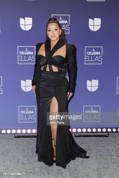 Chiquis Rivera attends the Latin GRAMMY Celebra Ellas y Su Musica Show on May 09, 2021 in Hollywood, Florida.
