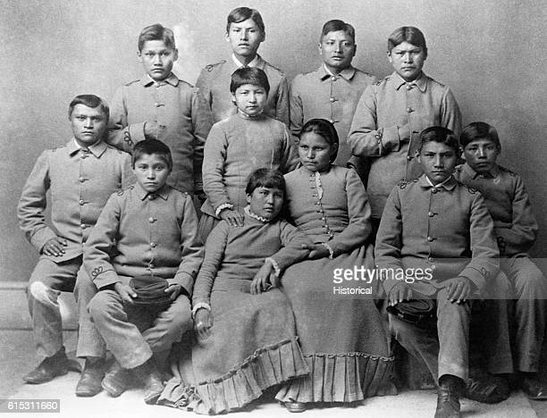 Chiracahua Apaches after four months at the Carlisle Indian School an institution dedicated to inducing Native Americans to abandon their traditional...
