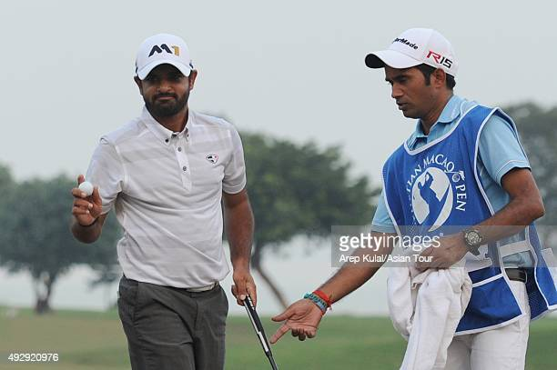 Chiragh Kumar of India picture during round two of the Venetian Macao Open at Macau Golf and Country Club on October 16 2015 in Macau Macau