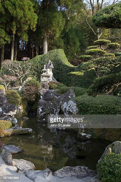 Chiran Bukeyashiki Samurai Residence and Gardens visitors can step into each of the seven gardens of which six are 'Karesansui' rock garden and one a...