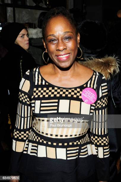 Chirlane McCray attends the Tracy Reese Presentation during New York Fashion Week at 632 Hudson on February 12 2016 in New York City