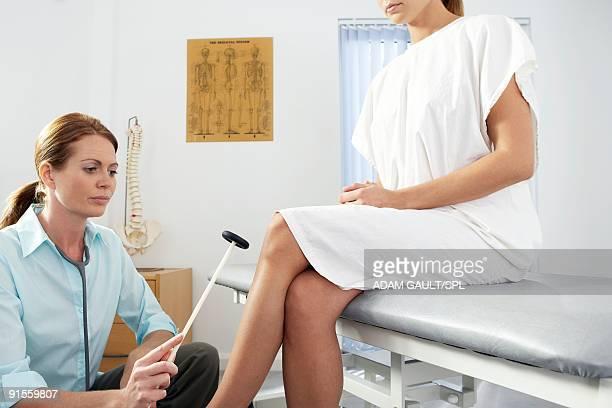 Chiropractor in practice