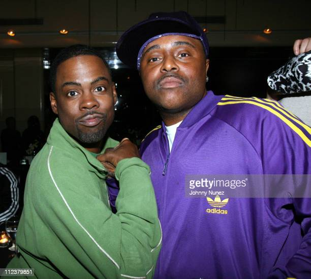 Chirs Rock and Alex Thomas during Boost Mobile Presents Mary J Blige's Birthday Party Hosted by Kendu Isaacs at Mr Chow in Beverly Hills California...