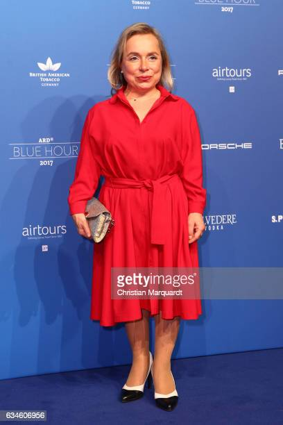 Chistiane Ursprunch attends the Blue Hour Reception hosted by ARD during the 67th Berlinale International Film Festival Berlin on February 10 2017 in...