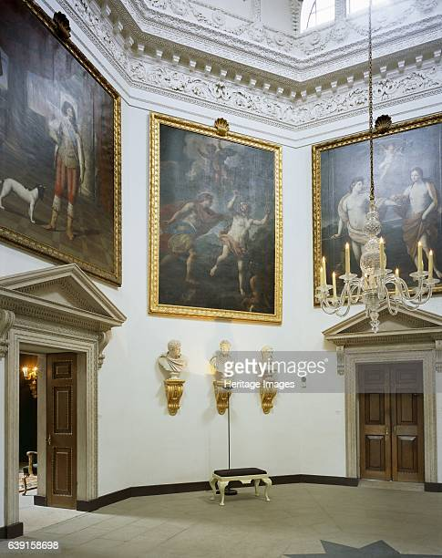 Chiswick House London c19902010 Interior view of the Tribunal Chiswick House is a Palladian villa in Burlington Lane Chiswick west London designed by...