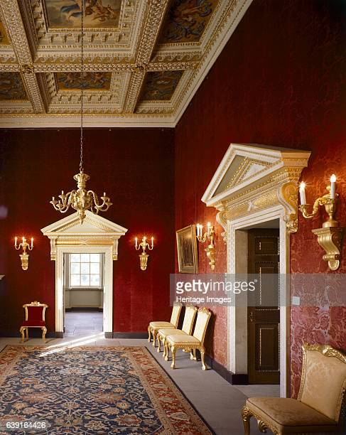 Chiswick House London c19902010 The Red Velvet Room Chiswick House is a Palladian villa in Burlington Lane Chiswick west London designed by Lord...