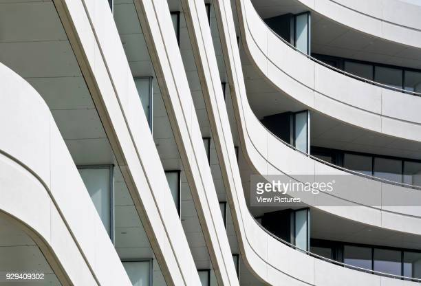 Chiswick Point Apartments balconies Chiswick Point Chiswick United Kingdom Architect Flanagan Lawrence 2015