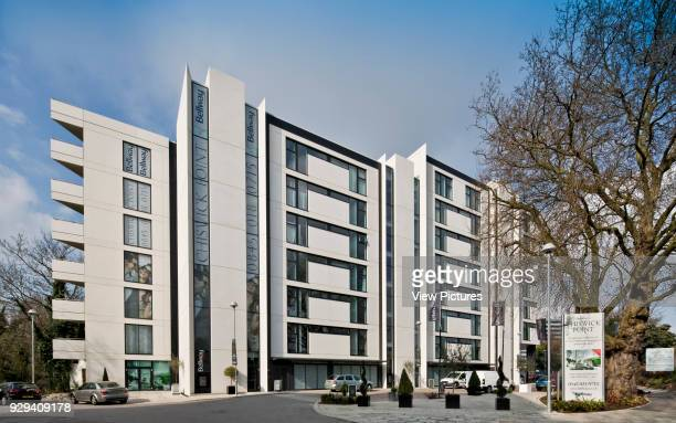 Chiswick Point Apartments from Bollo Lane Chiswick Point Chiswick United Kingdom Architect Flanagan Lawrence 2015