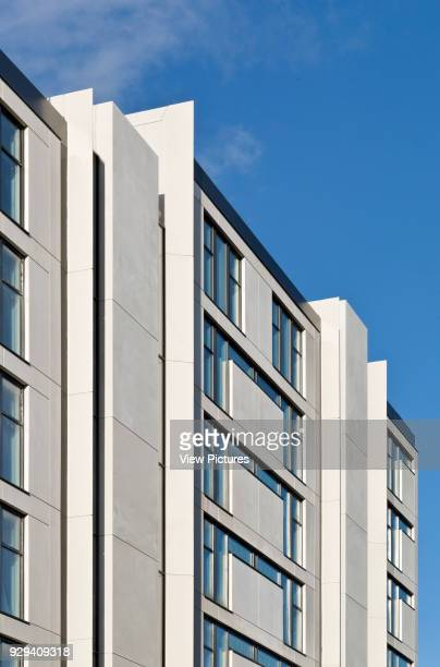 Chiswick Point London United Kingdom Architect Flanagan Lawrence 2015 Building facade detail