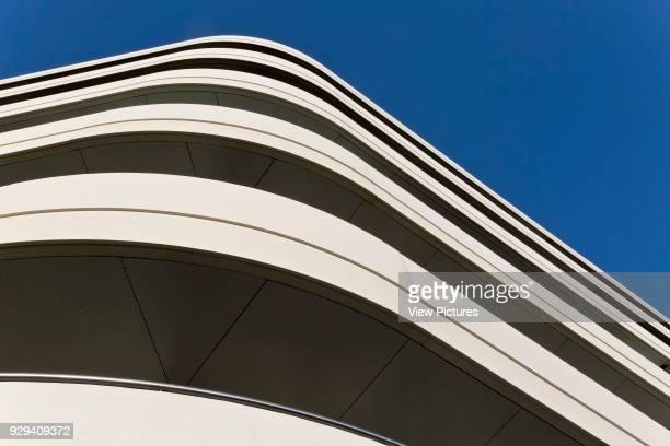 Chiswick Point London United Kingdom Architect Flanagan Lawrence 2015 Balcony detail