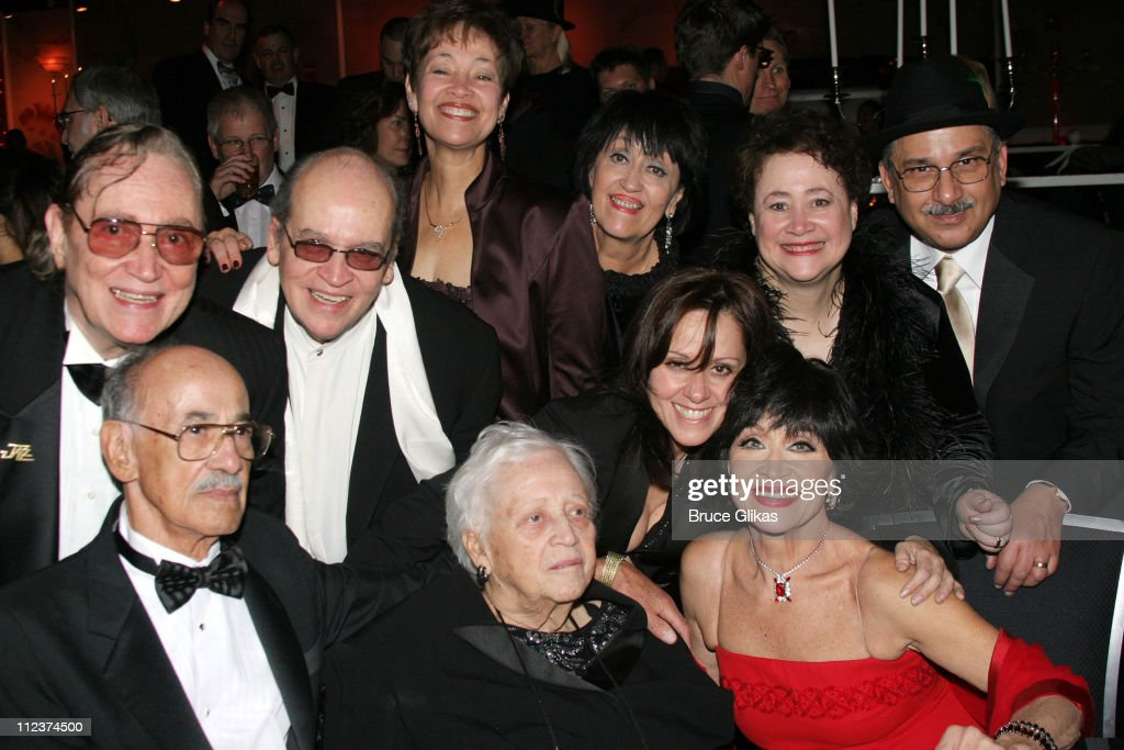 Chita Rivera and family during 'Chita Rivera: The Dancer's Life' Broadway Opening Night - After Party at The Gerald Schoenfeld Theatre, then The Copacabana in New York City, New York, United States.