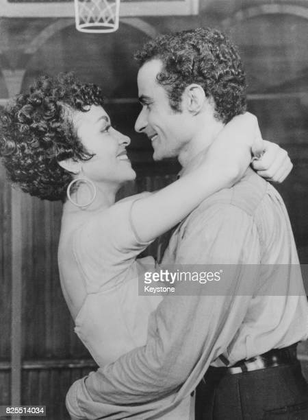 Chita Rivera and Ken Leroy star in a stage version of the musical 'West Side Story' in Manchester UK November 1958