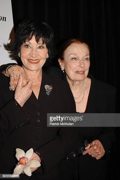 Chita Rivera and Patricia Morison attend New Dramatists 57th Annual Benefit Luncheon to Honor Chita at Marriott Marquis on May 18 2006 in New York...
