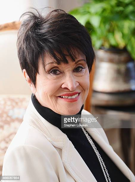 Chita Rivera attends a special breakfast in honor of the new musical 'The Visit' at the home The Consul General of Switzerland Ambassador Andre...