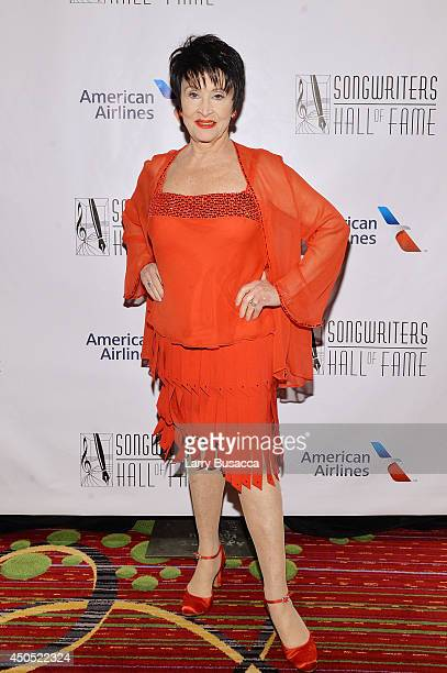 Chita Rivera attends Songwriters Hall of Fame 45th Annual Induction And Awards at Marriott Marquis Theater on June 12 2014 in New York City