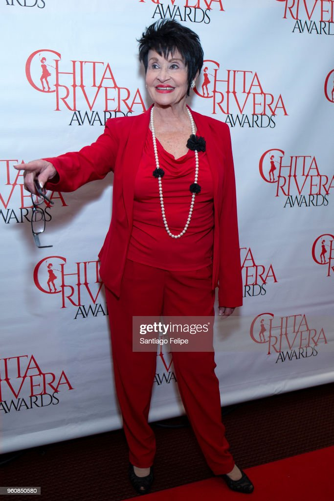 Chita Rivera attends the 2018 Chita Rivera Awards at NYU Skirball Center on May 20, 2018 in New York City.