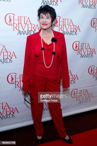 Chita Rivera attends the 2018 Chita Rivera Awards at NYU Skirball Center on May 20 2018 in New York City