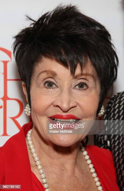 Chita Rivera attends The 2018 Chita Rivera Awards at the NYU Skirball Center for the Performing Arts on May 20 2018 in New York City