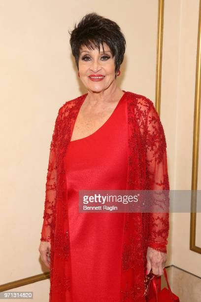Chita Rivera attends the 2018 Tony Awards Gala at The Plaza Hotel on June 10 2018 in New York City