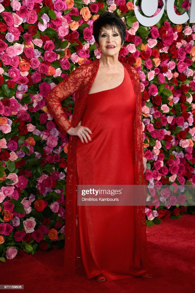 Chita Rivera attends the 72nd Annual Tony Awards at Radio City Music Hall on June 10, 2018 in New York City.