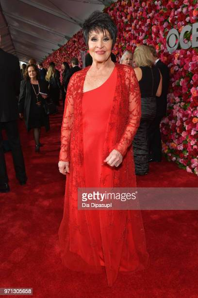 Chita Rivera attends the 72nd Annual Tony Awards at Radio City Music Hall on June 10 2018 in New York City