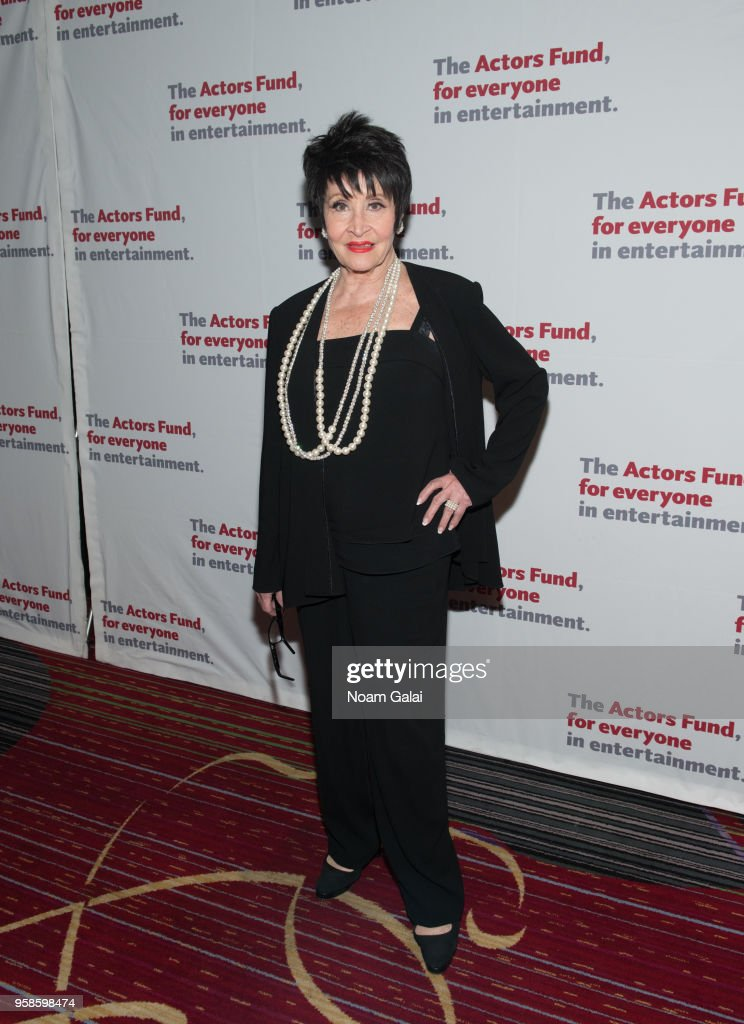 Chita Rivera attends The Actors Fund 2018 Gala at Marriott Marquis Times Square on May 14, 2018 in New York City.