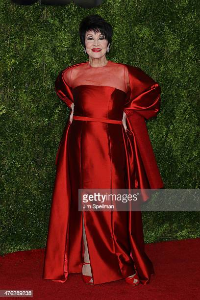 Chita Rivera attends the American Theatre Wing's 69th Annual Tony Awards at Radio City Music Hall on June 7 2015 in New York City