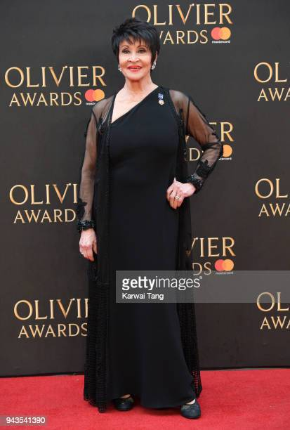 Chita Rivera attends The Olivier Awards with Mastercard at Royal Albert Hall on April 8 2018 in London England
