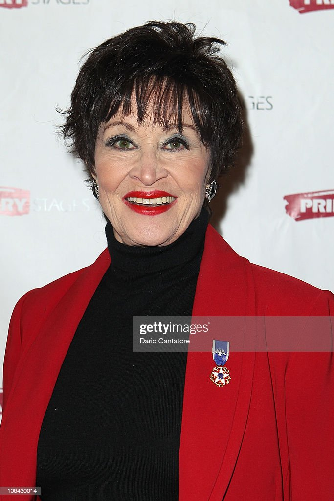 Chita Rivera attends the Primary Stages Gala at The Edison Ballroom on November 1, 2010 in New York City.