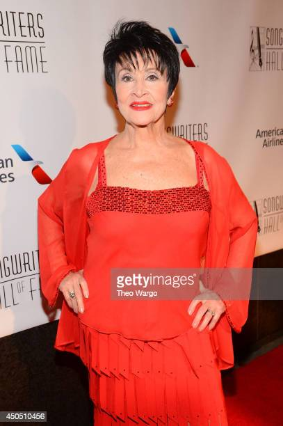 Chita Rivera attends the Songwriters Hall of Fame 45th Annual Induction and Awards at Marriott Marquis Theater on June 12 2014 in New York City
