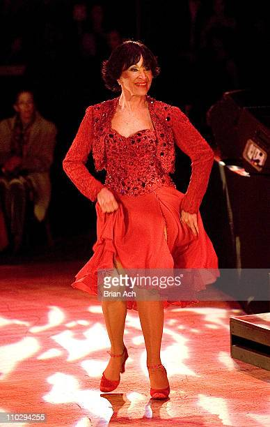 Chita Rivera during Broadway Cares/Equity Fights AIDS Presents an Evening of Latin Rhythms at BB King Blues Club in New York City New York United...