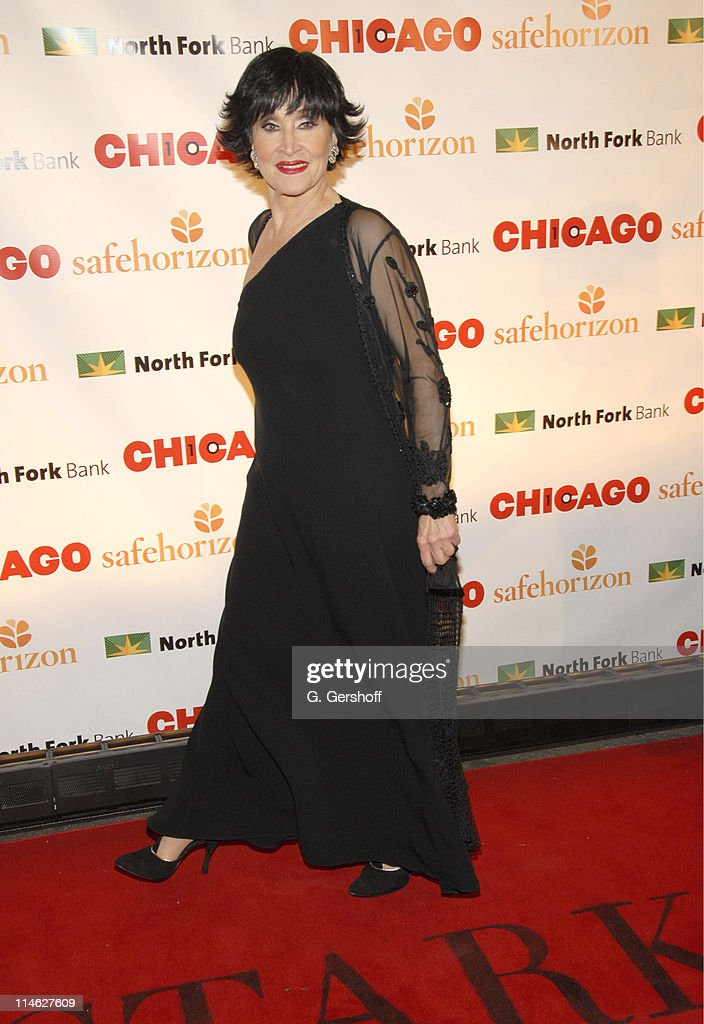 Chita Rivera during Chicago the Musical Celebrates its 10th Anniversary on Broadway - Arrivals at Ambassador Theater in New York City, New York, United States.