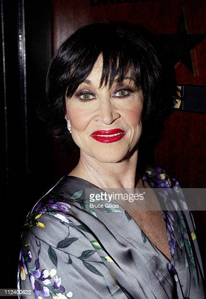 Chita Rivera during 'Latin Rhythyms II' to Benefit Broadway Cares/Equity Fights AIDS at BB King Blues Club and Grill in New York City New York United...