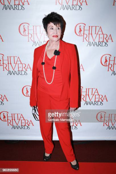Chita Rivera during the The 2nd Annual Chita Rivera Awards Honoring Carmen De Lavallade John Kander And Harold Prince at NYU Skirball Center on May...
