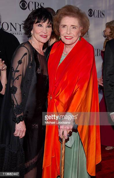 "Chita Rivera nominee for Best Performance by a Leading Actress in a Musical for ""Chita RiveraThe Dancer's Life"" and Patricia Neal"