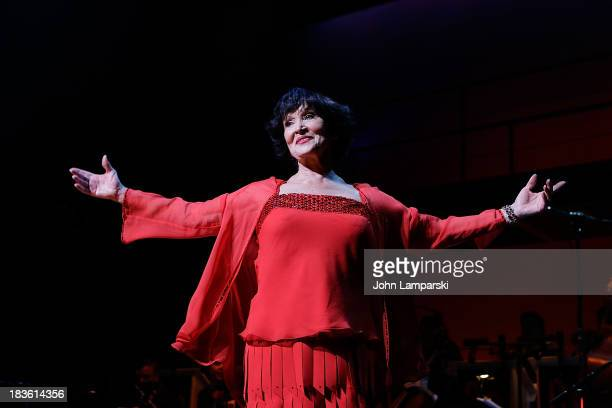 Chita Rivera performs at August Wilson Theatre on October 7 2013 in New York City