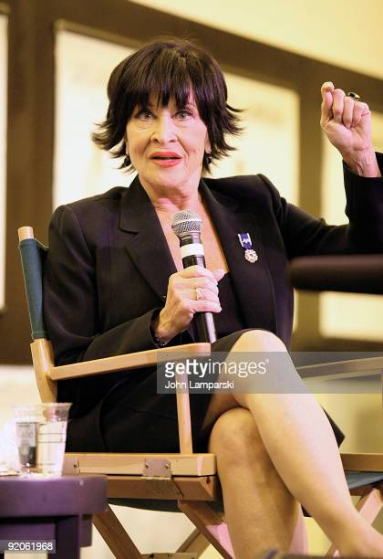 Chita Rivera promotes 'And Now I Swing' at Barnes Noble Lincoln Triangle on October 19 2009 in New York City