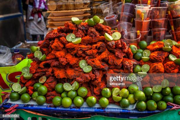 Chito Meat, street manjar in Mexico