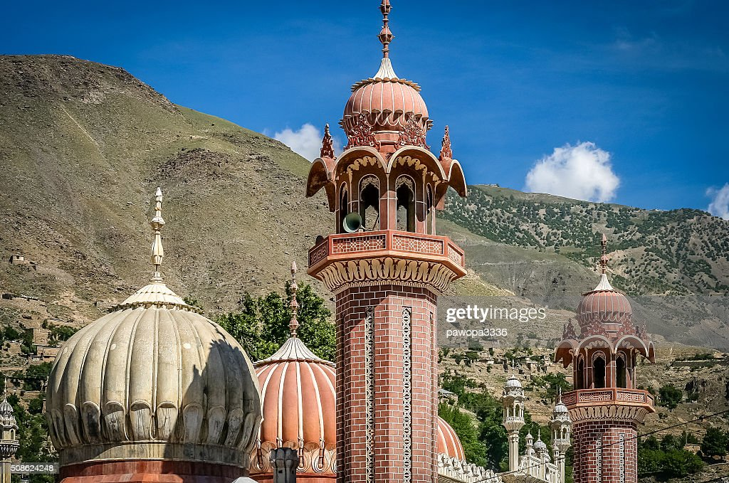 Chitral Mosque : Stock Photo