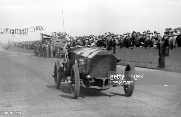 Chitty Chitty Bang Bang with Count Louis Zborowski at Southsea speed trials. Creator: Unknown.