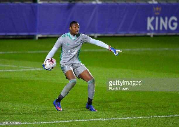 Chituru Odunze of Leicester City during Leicester City v Sheffield Wednesday: FA Youth Cup at Leicester City Training Ground on March 5, 2021 in...